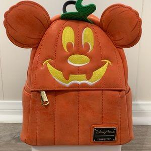 Disney Mickey Pumpkin Backpack